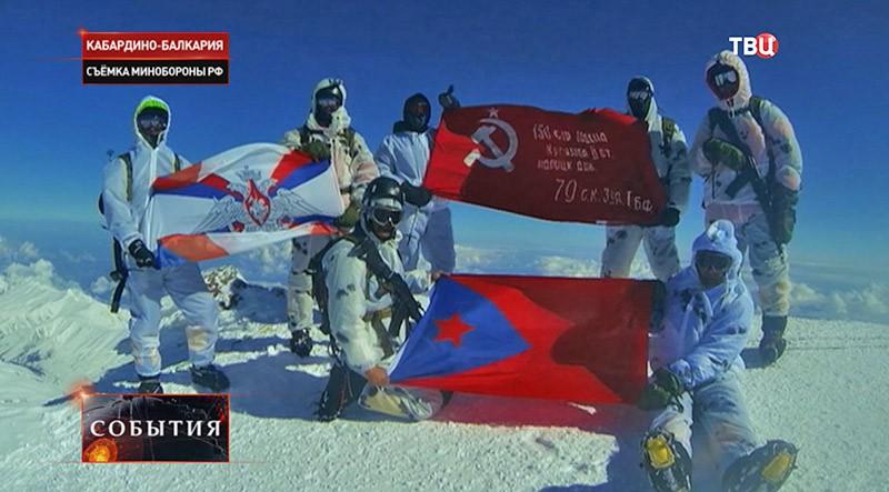 Знамена Победы в Кабардино-Балкарии
