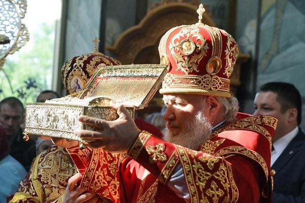 Святые мощи георгия победоносца в самаре