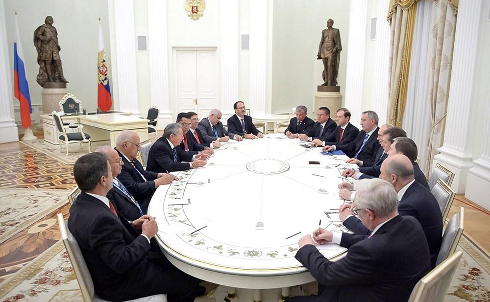 Российско-кубинская встреча