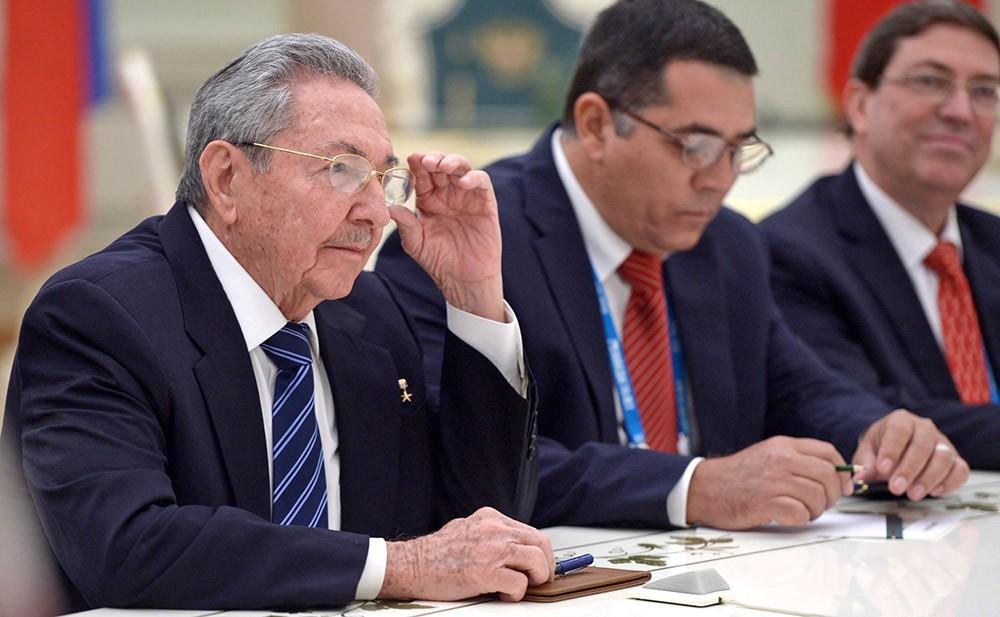 Председатель Госсовета и Совета Министров Республики Куба Рауль Кастро