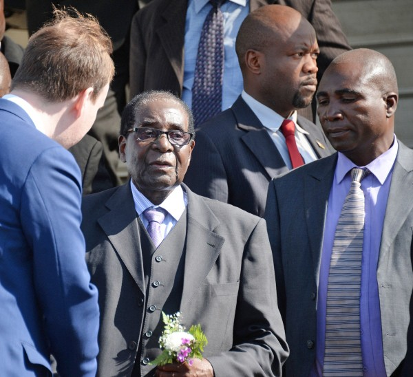 Президент Республики Зимбабве Роберт Мугабе прибыл в Москву