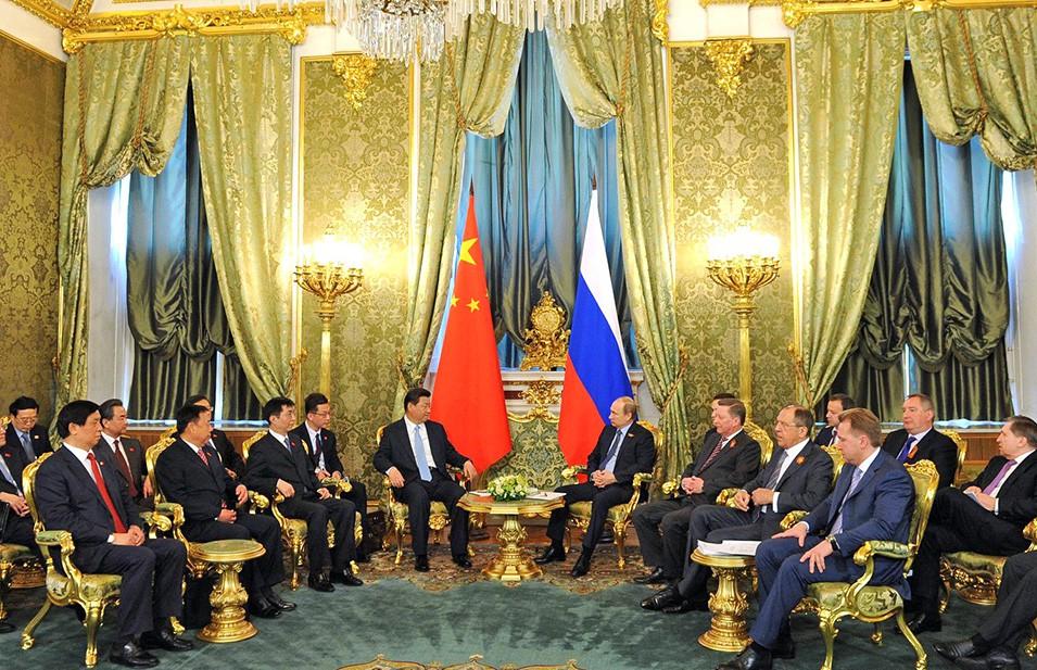 Российско-китайская встреча