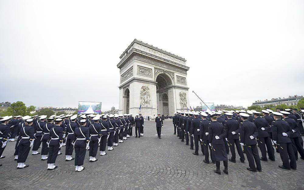 Памятные мероприятия по случаю 70-летней годовщины Победы в Париже