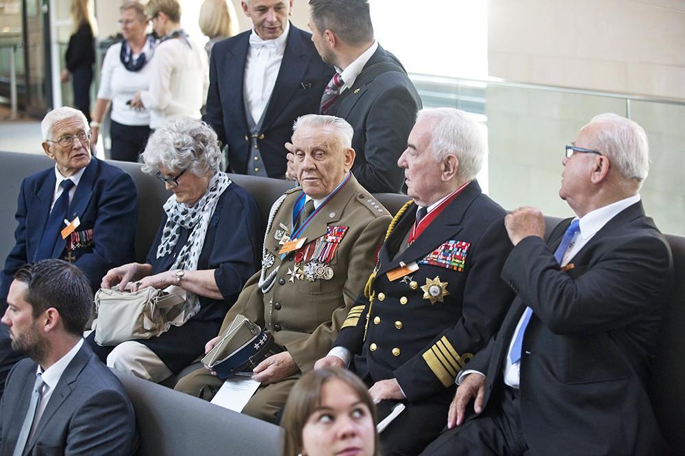 Ветераны на заседании в Бундестаге