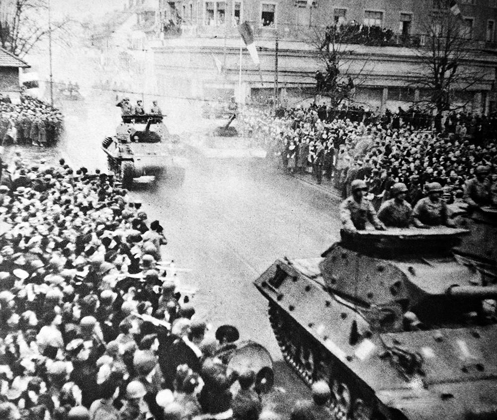 Освобождение Франции от немецко-фашистских войск
