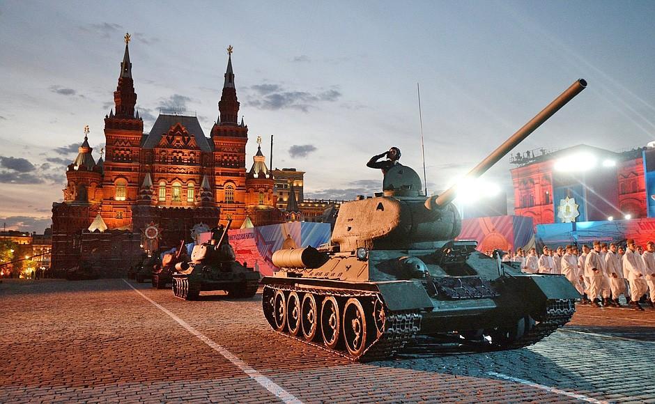 Концерт в честь 70-летия Великой Победы