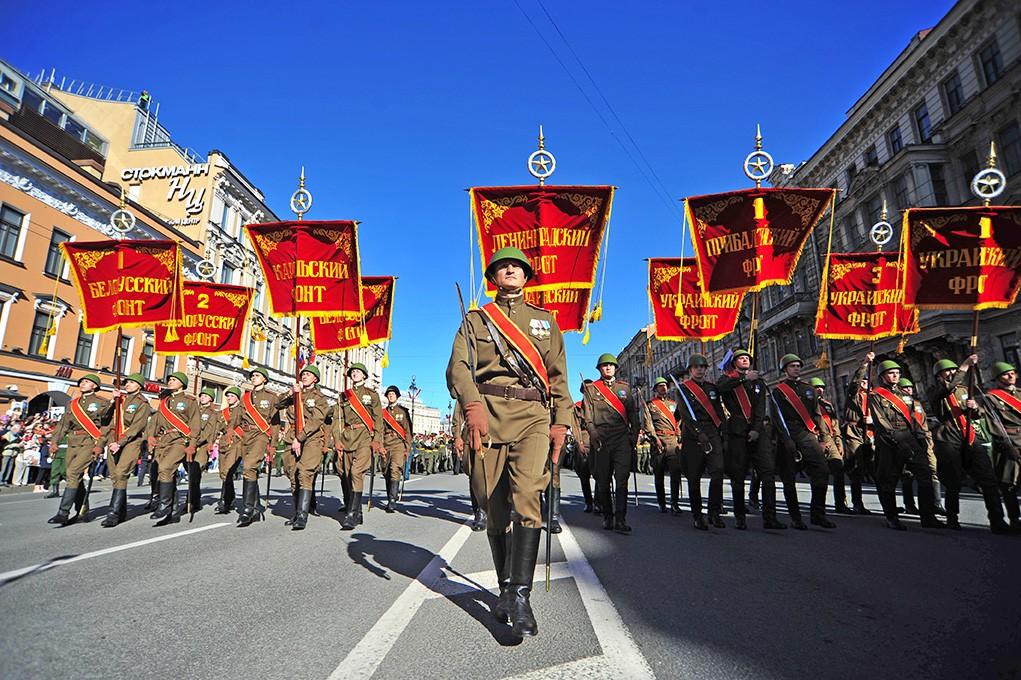 Парад Победы в Санкт-Питербурге