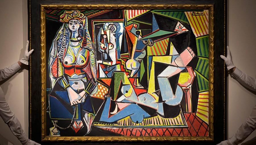 """Картина """"Алжирские женщины"""" Пабло Пикассо"""