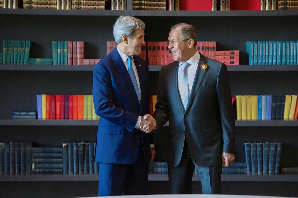 Встреча Сергея Лаврова и Джона Керри