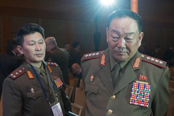 Министр вооруженных сил КНДР генерал армии Хён Ён Чхоль