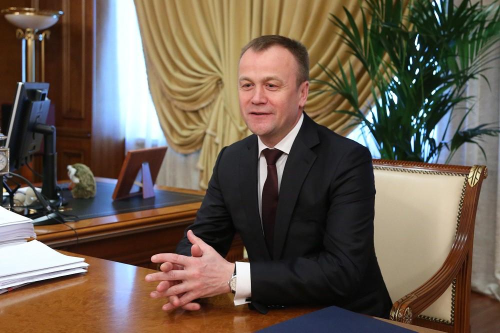 Губернатор Иркутской области Сергей Ерощенко