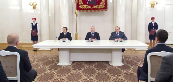 Подписание соглашения о сотрудничестве между метрополитенами Москвы и Пекина