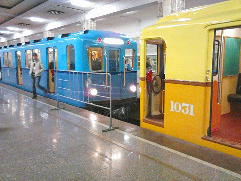 Парад поездов в Московском метро