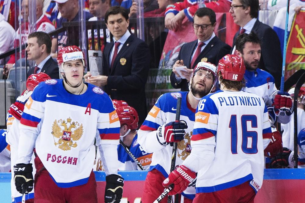 Сборная России по хоккею на ЧМ-2015