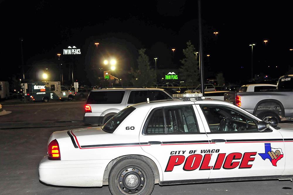 Полиция Техаса на месте происшествия