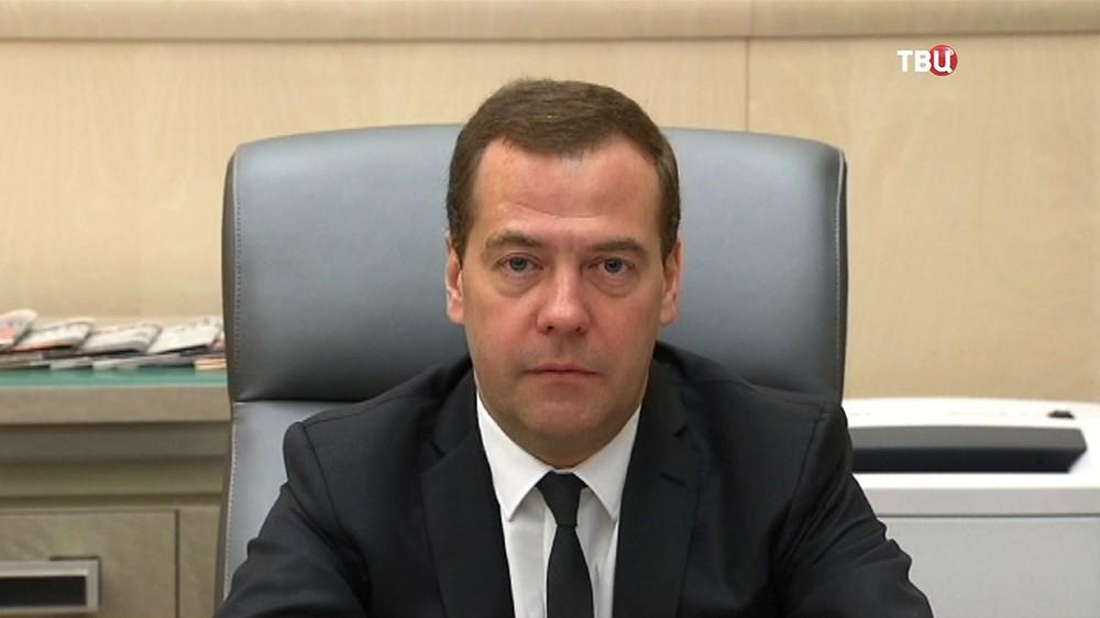Председатель правительства Дмитрий Медведев