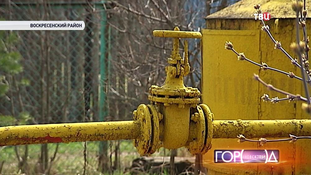 Изношенное газовое оборудование