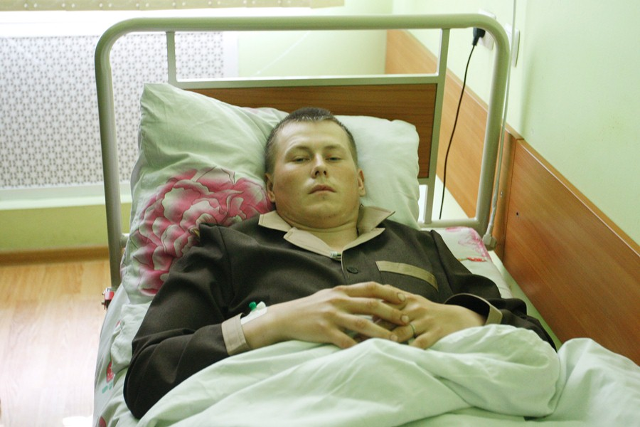 Захваченный СБУ россиянин Александр Александров