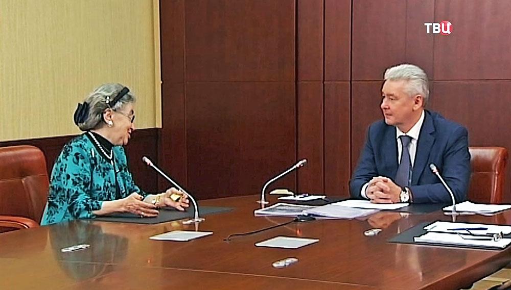 Мэр Москвы Сергей Собянин встречается с горожанами