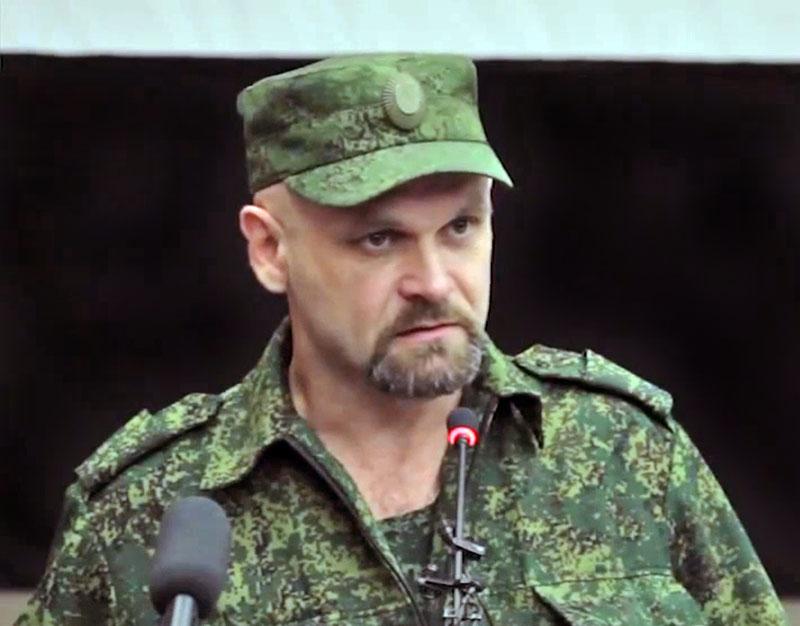 """Командира бригады """"Призрак"""" Алексей Мозговой"""