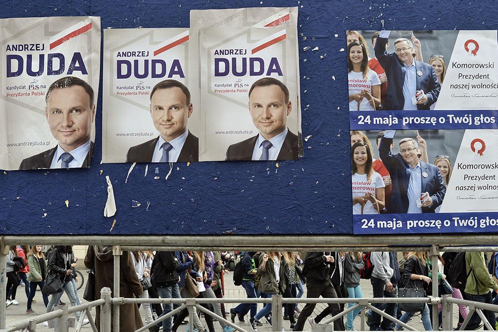 Предвыборная агитация в Польше