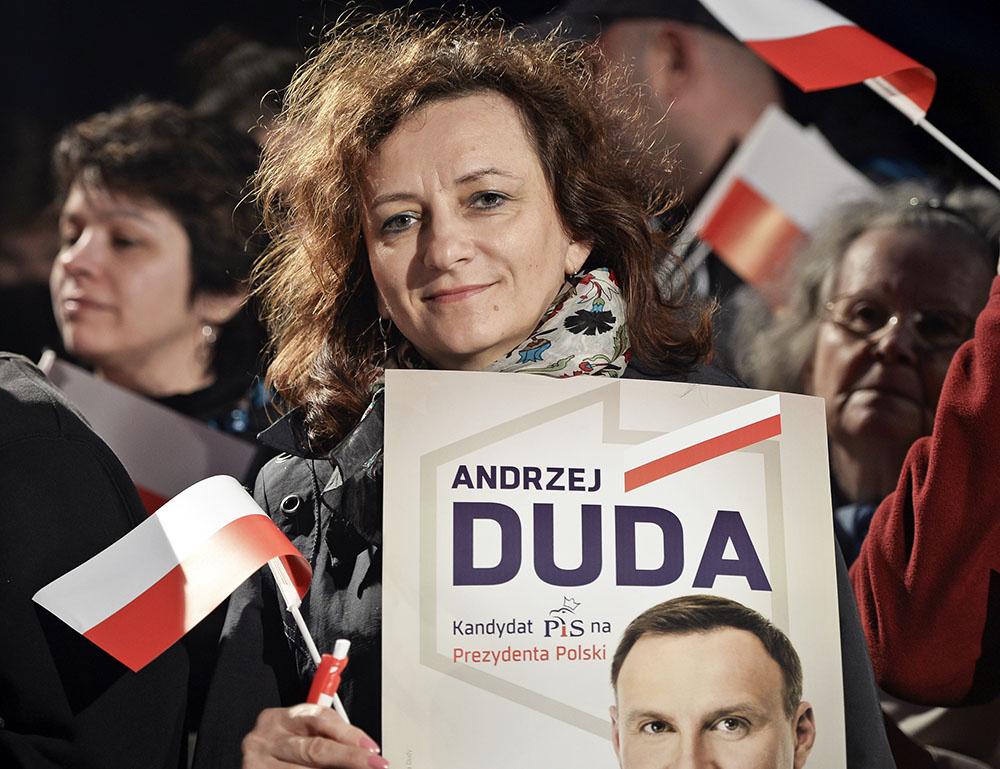 Предвыборная агитация Анджея Дуды