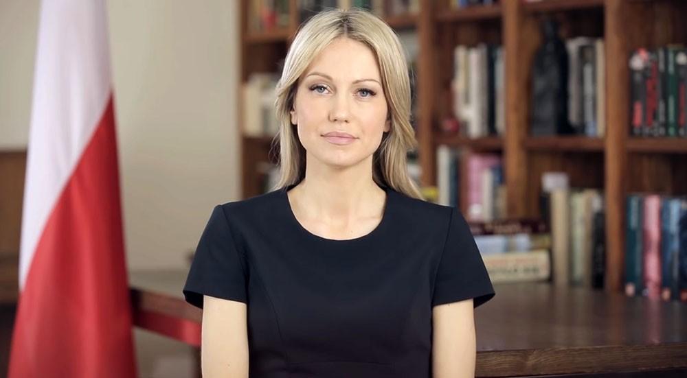 Польский политик Магдалена Огурек