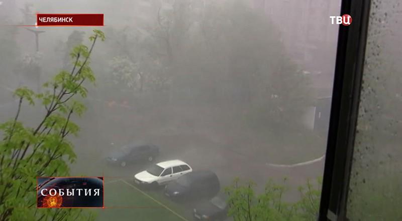 Наводнение в Челябинске