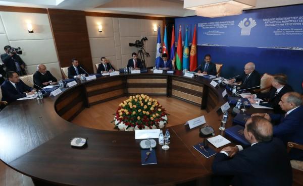 Во время заседания Совета глав правительств Содружества Независимых Государств