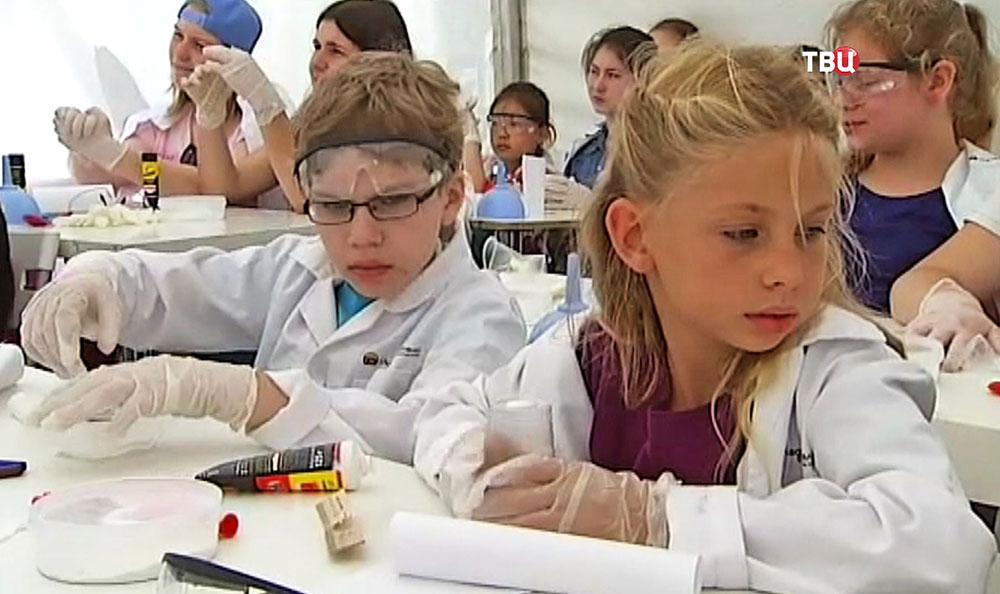 Детская химическая лаборатория