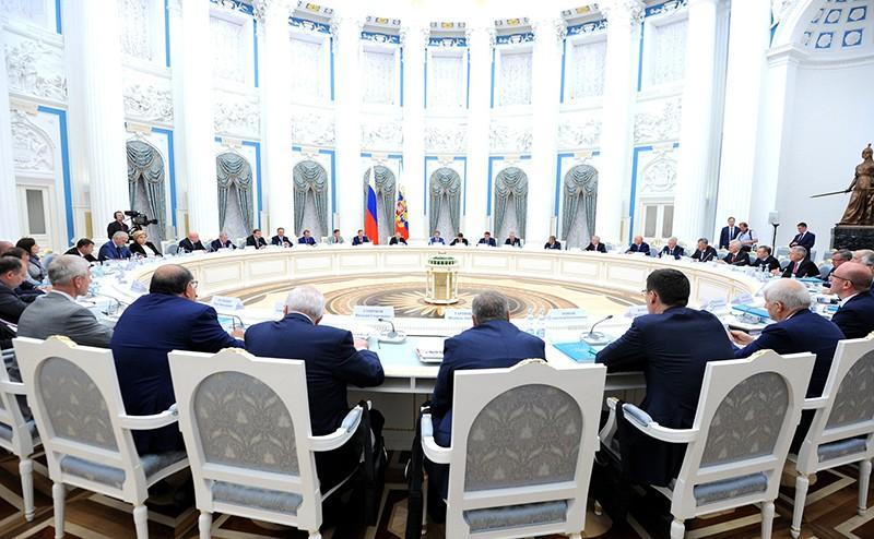 Заседание Совета по развитию физической культуры и спорта