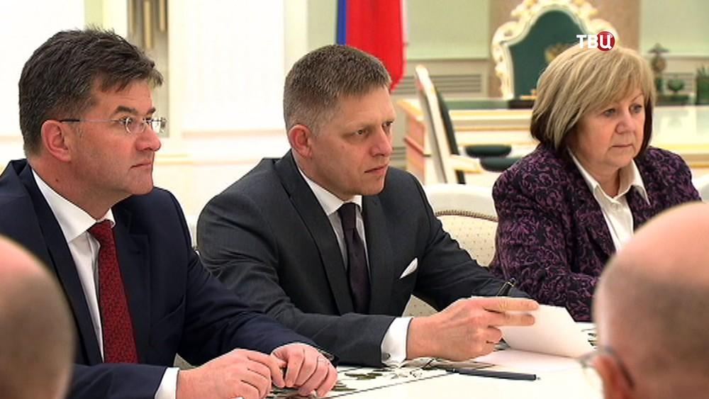 Председатель Правительства Словакии Роберт Фицо