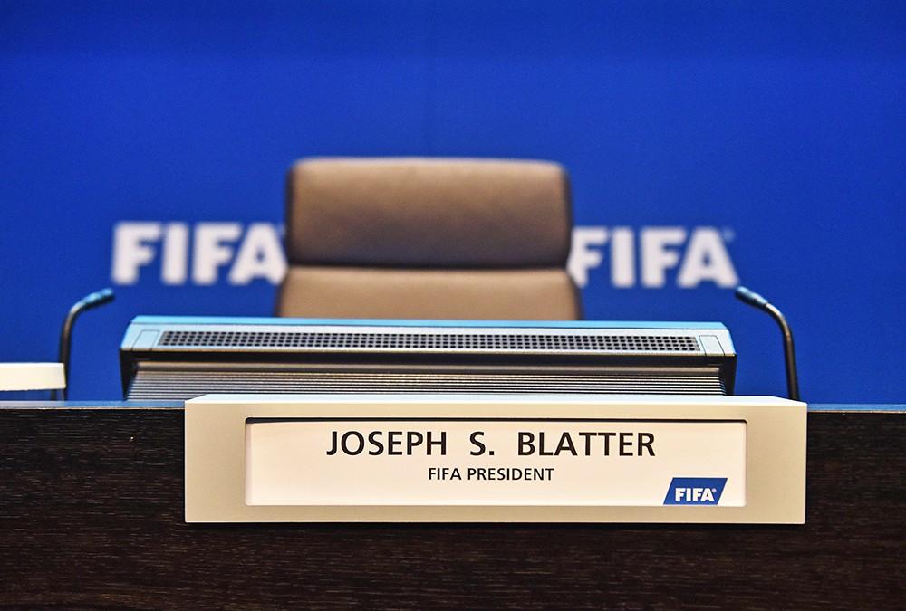 Пресс-конференция Йозефа Блаттера