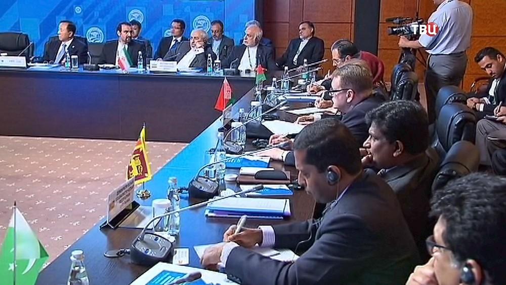 Конференция по региональной безопасности ШОС
