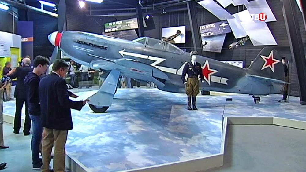 """Истребитель Як-3, на котором летали французские пилоты эскадрильи """"Нормандия-Неман"""""""