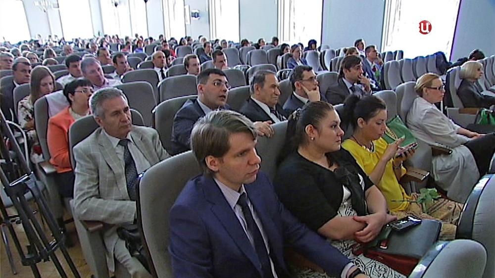Конференция в НИИ Склифосовского