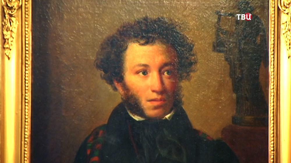 Портрет Александра Сергеевича Пушкина