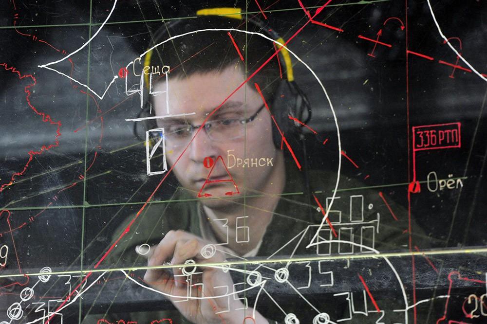 Работа центра ПВО России