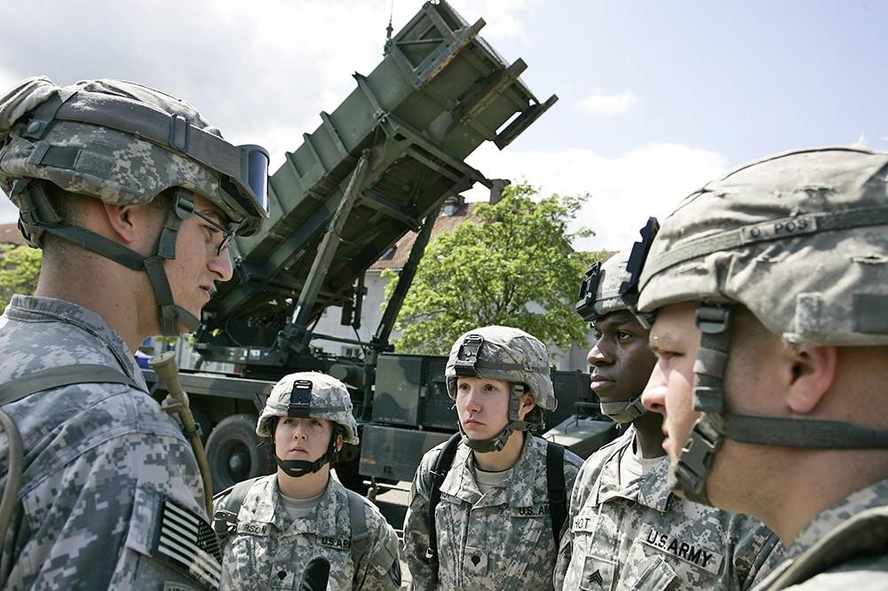 Ракетный комплекс Patriot армии США