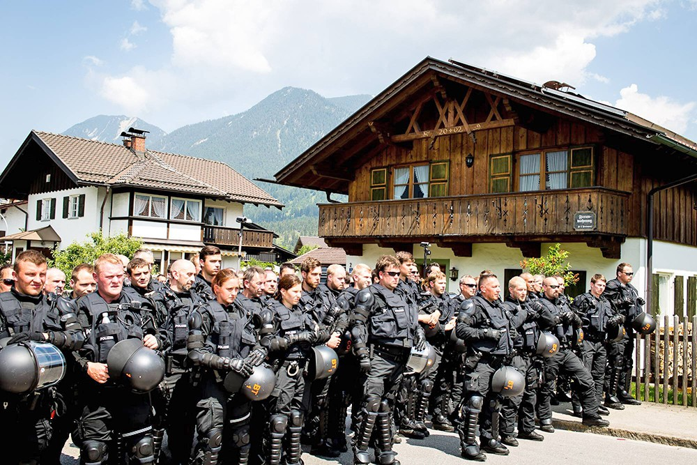 Усиление полиции Германии в преддверии саммита