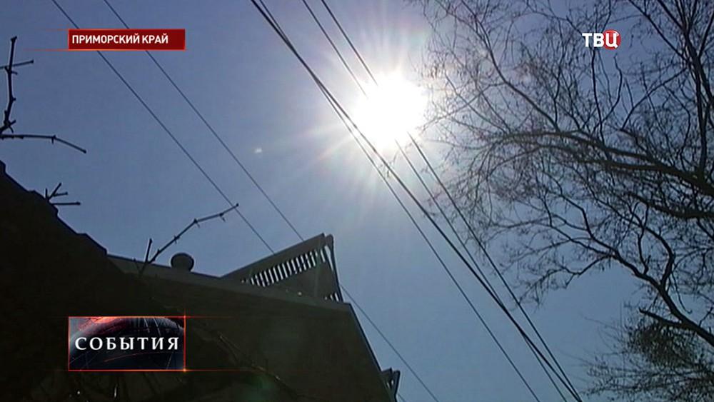Солнечная погода в Приморье
