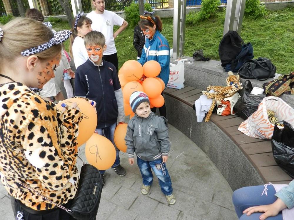 """Акция """"Возвращение леопарда"""" во Владивостоке"""