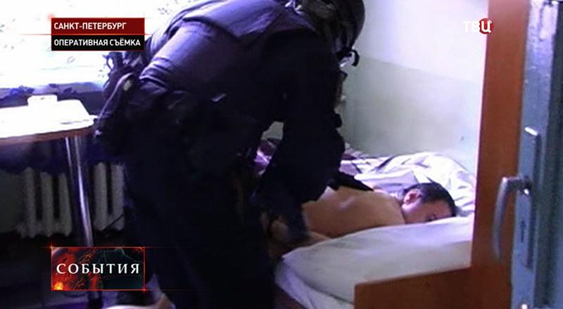 Задержание мошенников в Санкт-Петербурге