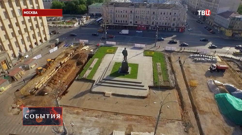 """Благоустройство Триумфальной площади в рамках проекта """"Моя улица"""""""