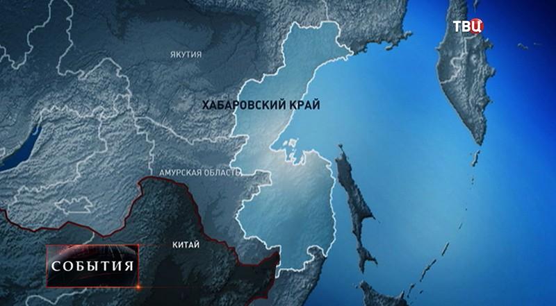 Карта Хабаравского Края
