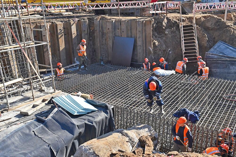 Реконструкция Волоколамского путепровода