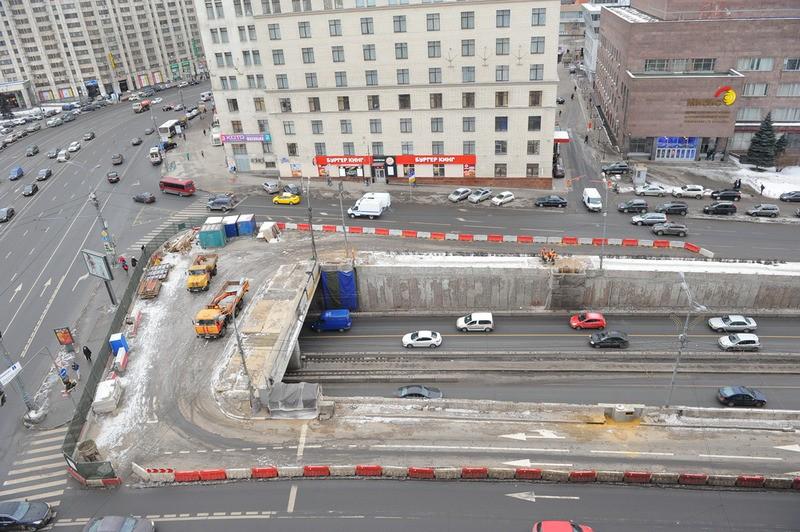 Реконструкция Октябрьского тоннеля