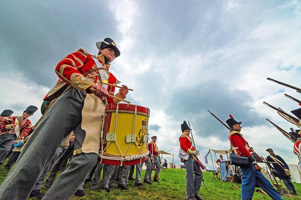 Историческая реконструкция битвы при Ватерлоо