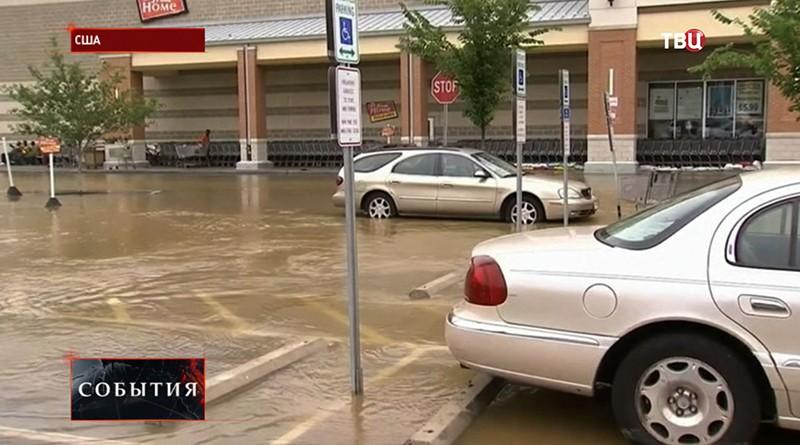 Тропический циклон в США