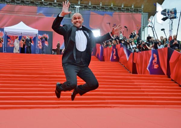 Актер Максим Аверин на церемонии открытия 37-го Московского международного кинофестиваля